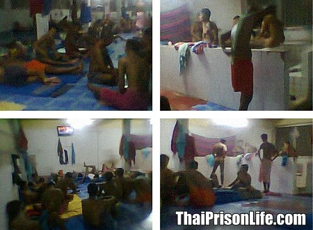 Rare Pictures from Inside a Thai Prison Cell