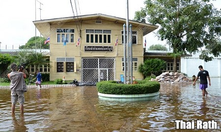 Prison flooded, inmates relocated
